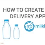 milk delivery app development cost