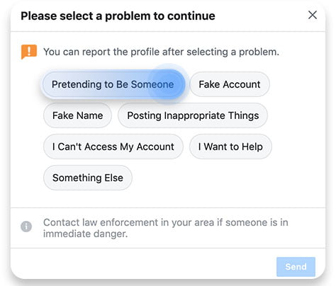 what to do when your facebook account has been cloned